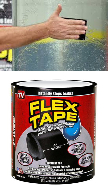 Flex Seal. Extra strong tape
