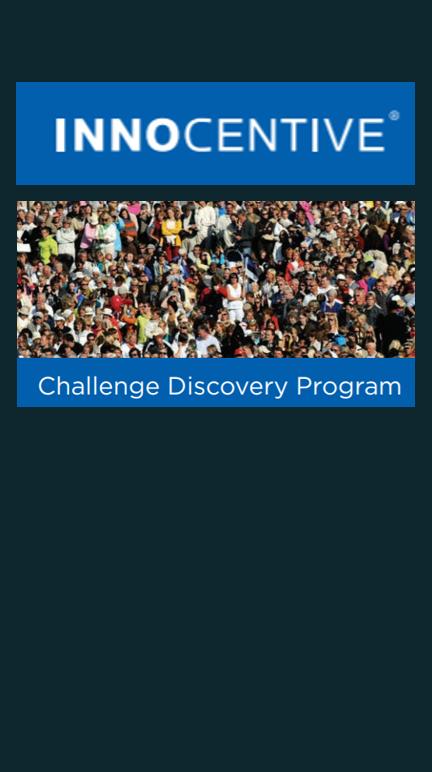 Challenge Discovery Program. Innocentive